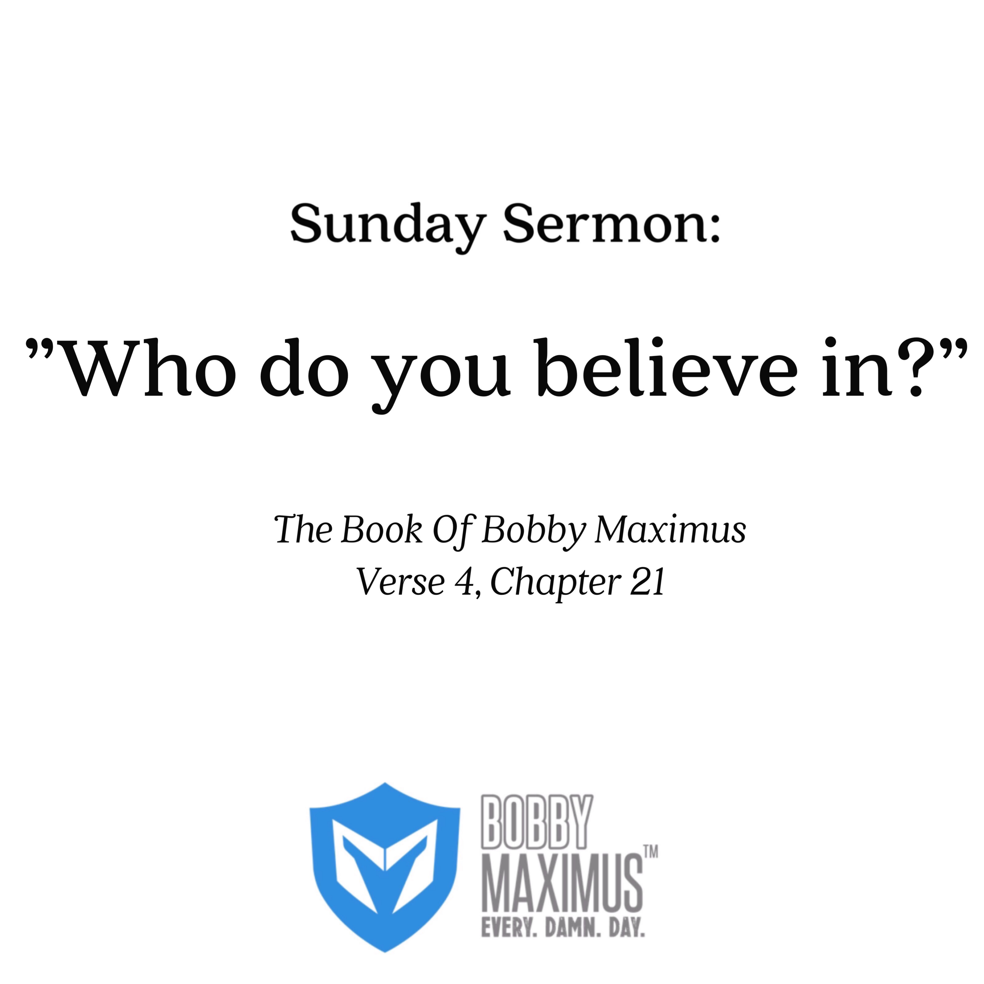 Sunday Homilies